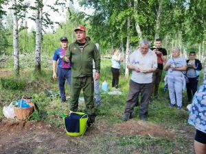 Жители Менделеевска облагородили территорию парка «Ушковские острова»