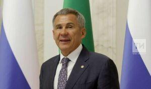 Президент Татарстана поздравил ИА «Татар-информ» с 30-летием