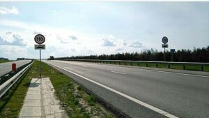 В Татарстане на нескольких участках М7 разрешили ездить со скоростью 110 км/ч