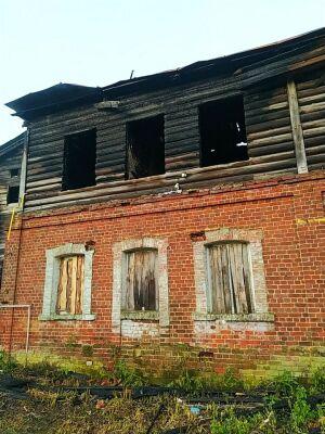 В Зеленодольске второй раз за два дня горел дом в «Полукамушках»
