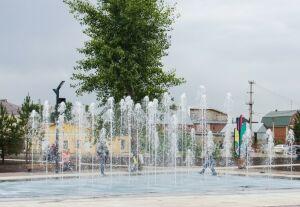 В Челнах в разгар жары фонтаны отключили на профилактику