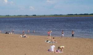 Пляж в Нижнекамске признали безопасным для здоровья граждан