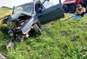Один человек погиб и трое пострадали в страшной аварии на трассе М7 в Татарстане