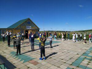 В кукморском детском лагере проходит творческая смена «Фестиваль Нараткай Live»