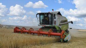 Нурлатские аграрии, обмолотившие первую тысячу тонн зерна, получили премию