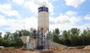 В Алькеевском районе заработал завод по производству бетона