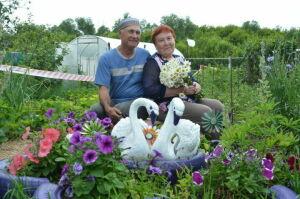 Семья из Бавлинского района отметила 45-летие совместной жизни