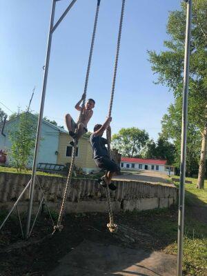 В детских лагерях Лениногорска дан старт олимпийским сменам