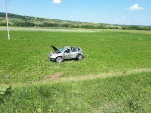 Водитель внедорожника из Кировской области уснул за рулем и вылетел в кювет в РТ