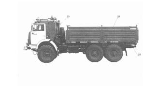 КАМАЗ получил патент на беспилотный грузовик