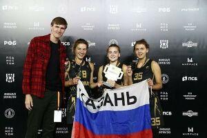 Татарстанская команда «Тулпар» стала чемпионом России по баскетболу 3х3