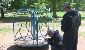 Общественники проверили состояние детских площадок в Нижнекамске