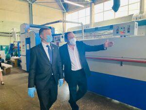 Министр промышленности и торговли РТ положительно оценил заводы в Менделеевске