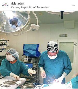 Врачи РКБ сохранили беременность пациентке, вырезав большую опухоль