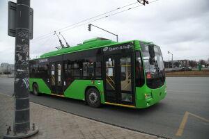 В Казани временно изменится схема движения троллейбуса №1