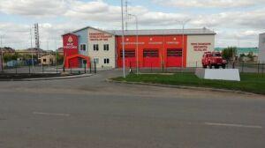 В Апастово завершено строительство нового пожарного депо