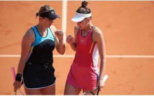 Вероника Кудерметова проиграла матч в парном разряде и выбыла из турнира в Праге