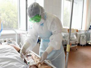 В ковид-госпитале Нижнекамска пролечили более 1400 больных пневмонией