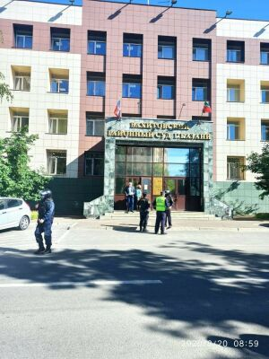 В Казани эвакуируют здание Вахитовского районного суда