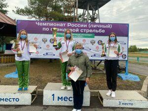 Татарстанские стрелки заняли весь пьедестал на чемпионате России