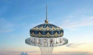 Для башни «Тюбетей Tower» найдут новое место из-за будущего нацпарка Казани