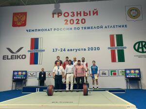 Тяжелоатлет из Татарстана стал чемпионом России