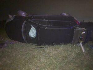 Девушка-водитель получила серьезные травмы, вылетев на иномарке в кювет в РТ