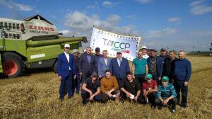 Хозяйство «Цильна» первым в Дрожжановском районе РТ завершило уборку зерновых