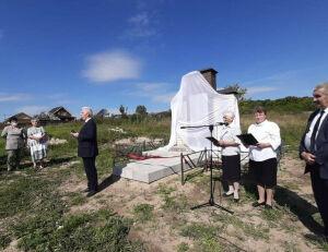 В верхнеуслонской деревне Ташевка воздвигли новый памятник воинам-землякам