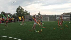 В Лениногорском районе открыли универсальную спортплощадку