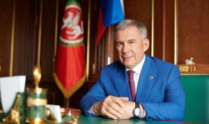 «В основе наших успехов – созидательный труд»: Минниханов поздравил татарстанцев
