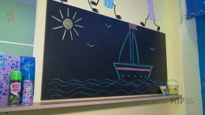 В детсаду Нижнекамска можно рисовать на стене, проводить опыты и кататься на льду
