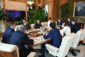 Рустам Минниханов обсудил с Аидой Балаевой развитие сотрудничества с Казахстаном