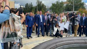 Минниханов открыл ДК железнодорожников в Юдино