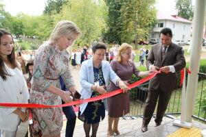 В Елабуге открыли спортплощадку, детский сад и музыкальную школу