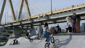 В Казани состоялось открытие самого большого экстрим-парка в Европе