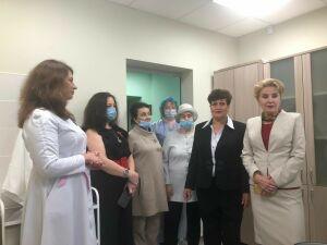 В Менделеевской ЦРБ открылся кабинет гериатрии по нацпроекту «Демография»