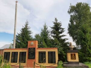В селе Кугеево Зеленодольского района восстановили бюст Героя Советского Союза