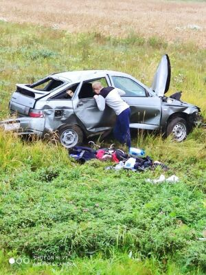 Девушка получила серьезные травмы по вине неопытного водителя под Челнами