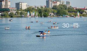 Татарстанцев предупредили о 33-градусной жаре и ветре