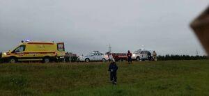 Рано утром в Татарстане на М7 иномарка вылетела в кювет, водитель в больнице