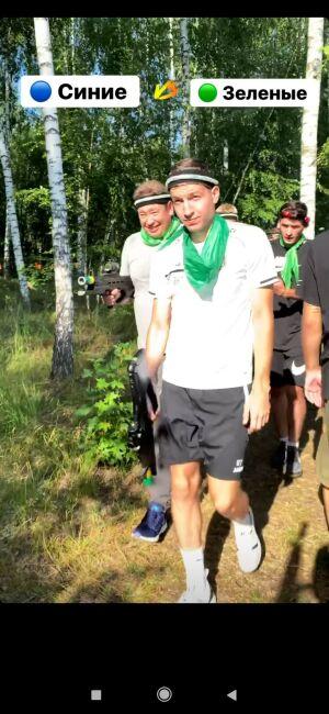 Футболисты и тренеры «Рубина» сыграли в лазерный пейнтбол