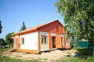 В нижнекамском селе завершается этап реконструкции сквера и строительство ФАПа