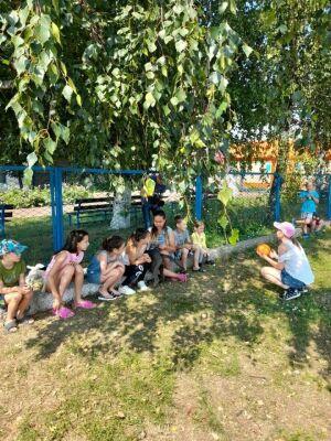 Высокогорский центр «Өмет» реализует технологию обучения дворовым играм