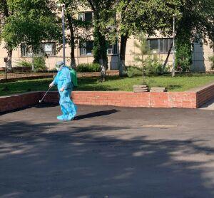 В челнинской больнице № 5 переход на обычный режим начали с дезинфекции
