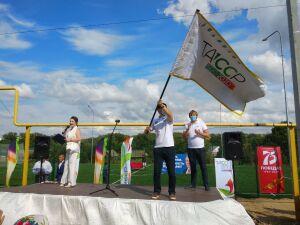 Высокогорский район принял эстафету флага 100-летия образования ТАССР