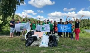 Казанские активисты очистят от мусора берег и дно озера Глубокое