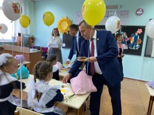 В Мамадышском районе в нескольких школах будет учиться по одному первокласснику