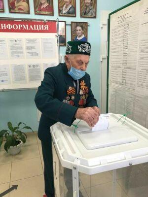 Участие в выборах новошешминский участник войны считает делом чести