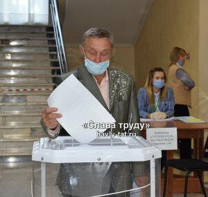 В Бавлинском районе проголосовало 92,45% жителей